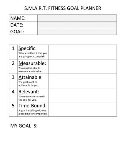 smart-fitness-goal-planner