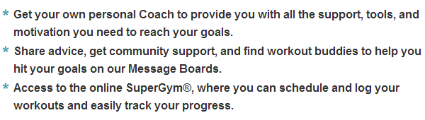 team beachbody account information