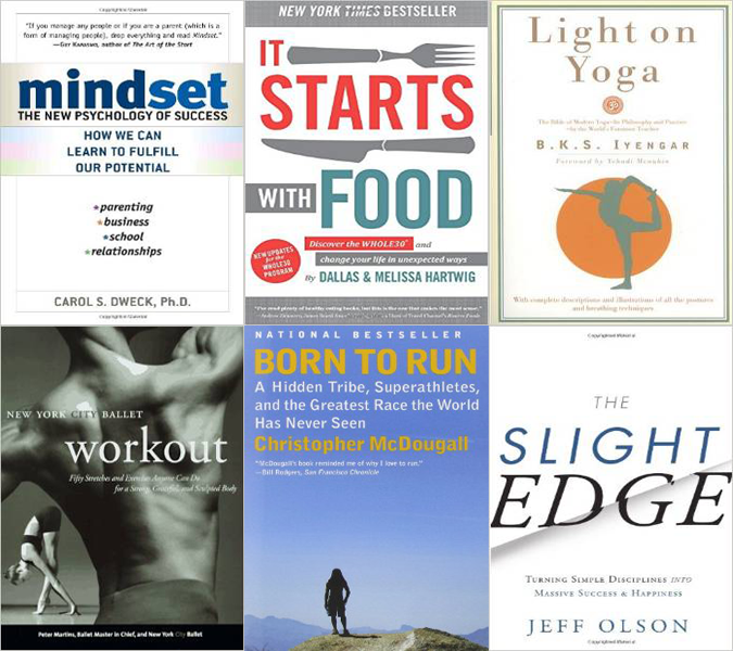 24 Recommended Books to Better Your Body and Mind