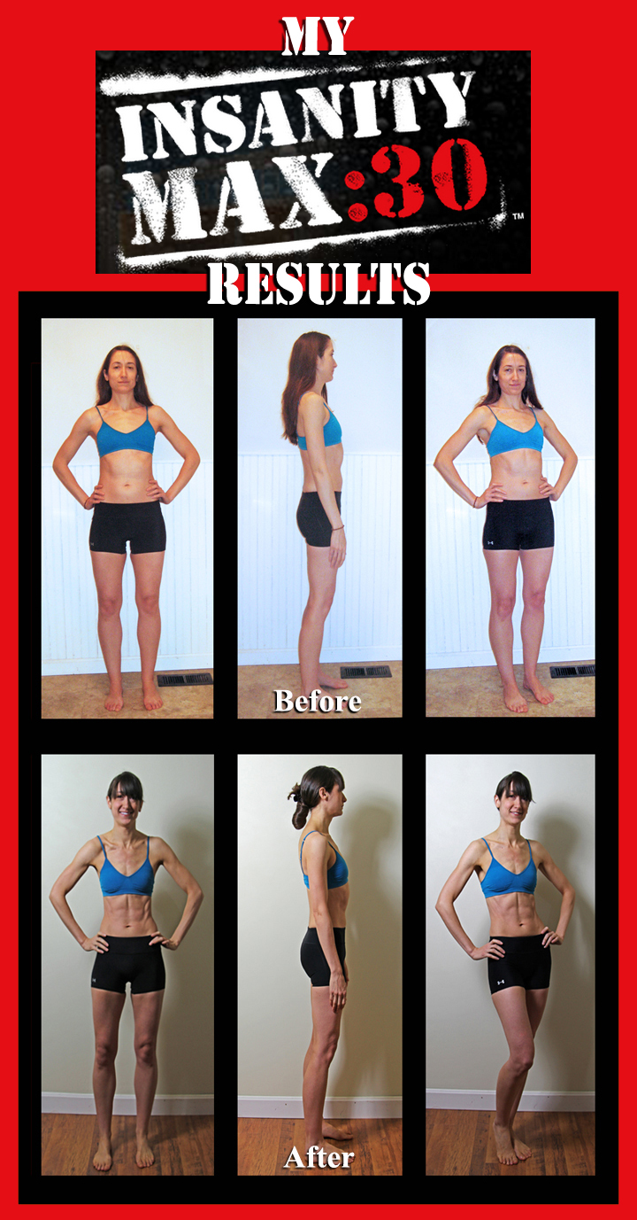 Insanity Max30 Results Bethany Lyn