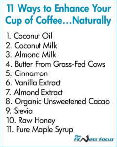 List of Natural Foods to Flavor Coffee