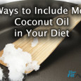 coconut oil in diet