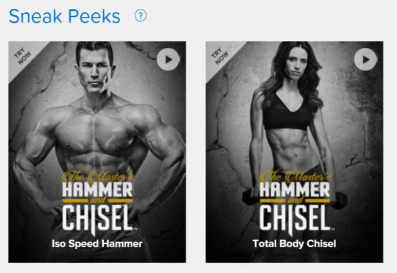 hammer and chisel sneak peek