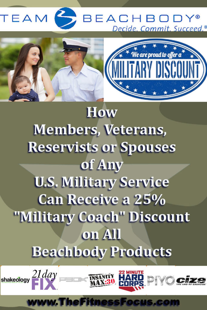 Beachbody Military Coach Discount