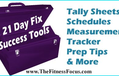 21 Day Fix Success Tools