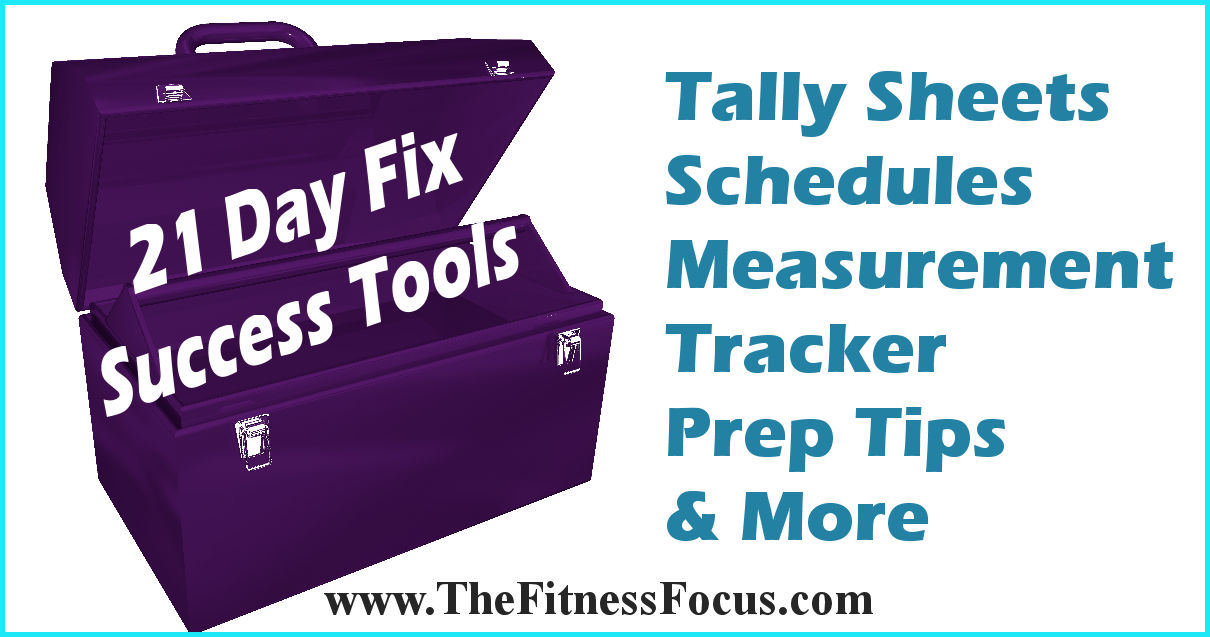 21 Day Fix Success Tools
