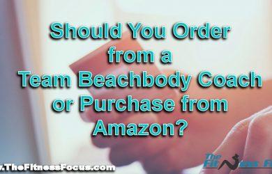ordering Beachbody programs from amazon or team beachbody