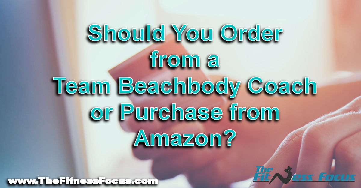 ordering Beachbody programs from amazon or team beachbody