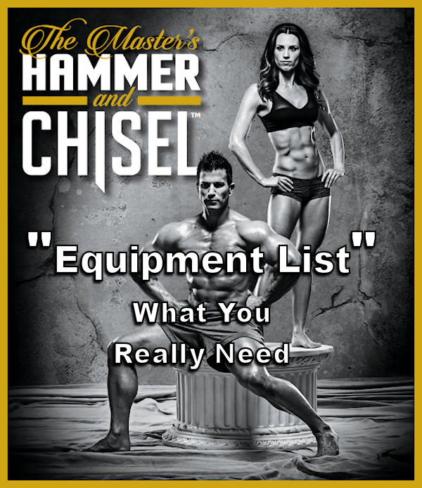 hammer and chisel equipment list
