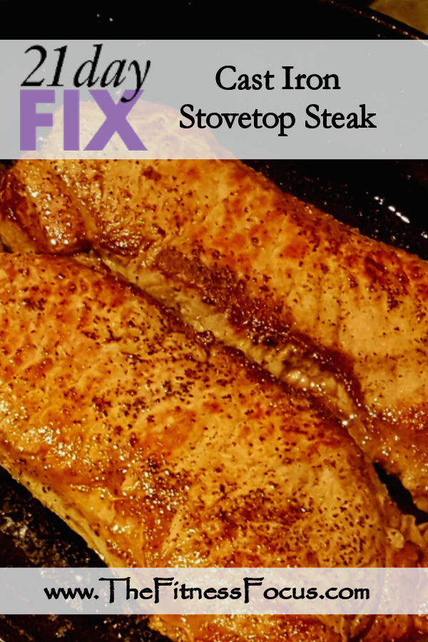 21 day fix steak recipe