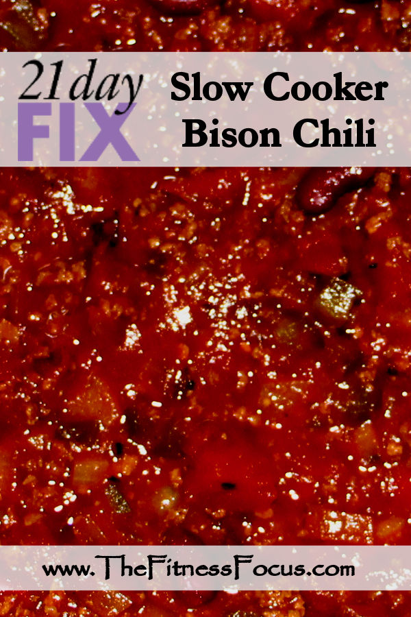 21 Day Fix Chili