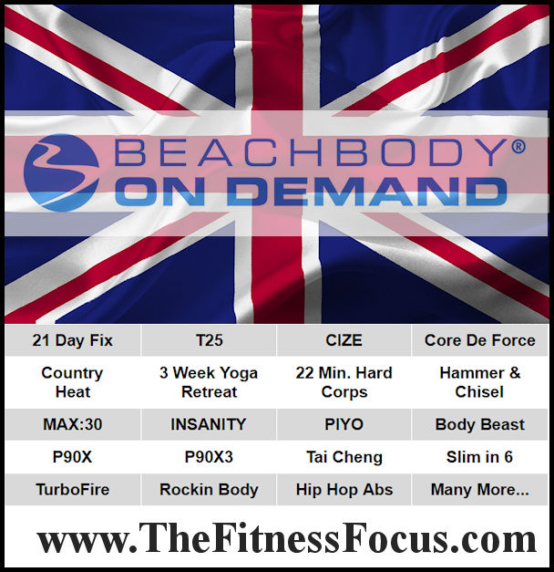 Beachbody On Demand is available in the UK to stream all Beachbody workout programs