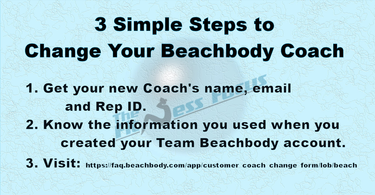 How to change your Beachbody Coach in 3 steps