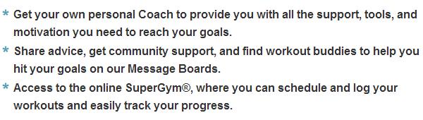 team beachbody account information
