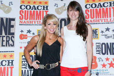 Chalene Johnson creator of PiYo with Bethany Lyn from The Fitness Focus