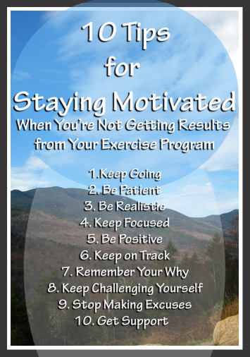 no fitness progress 10 tips to stay motivated