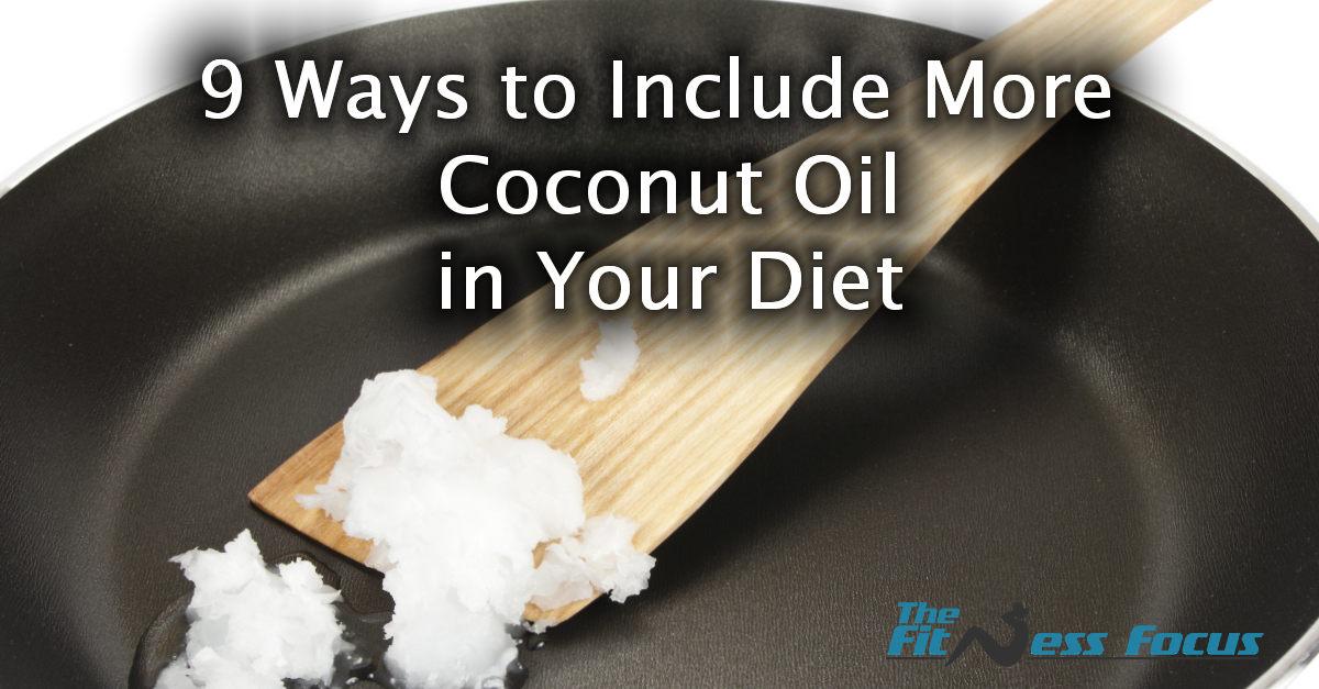 coconut oil in diet