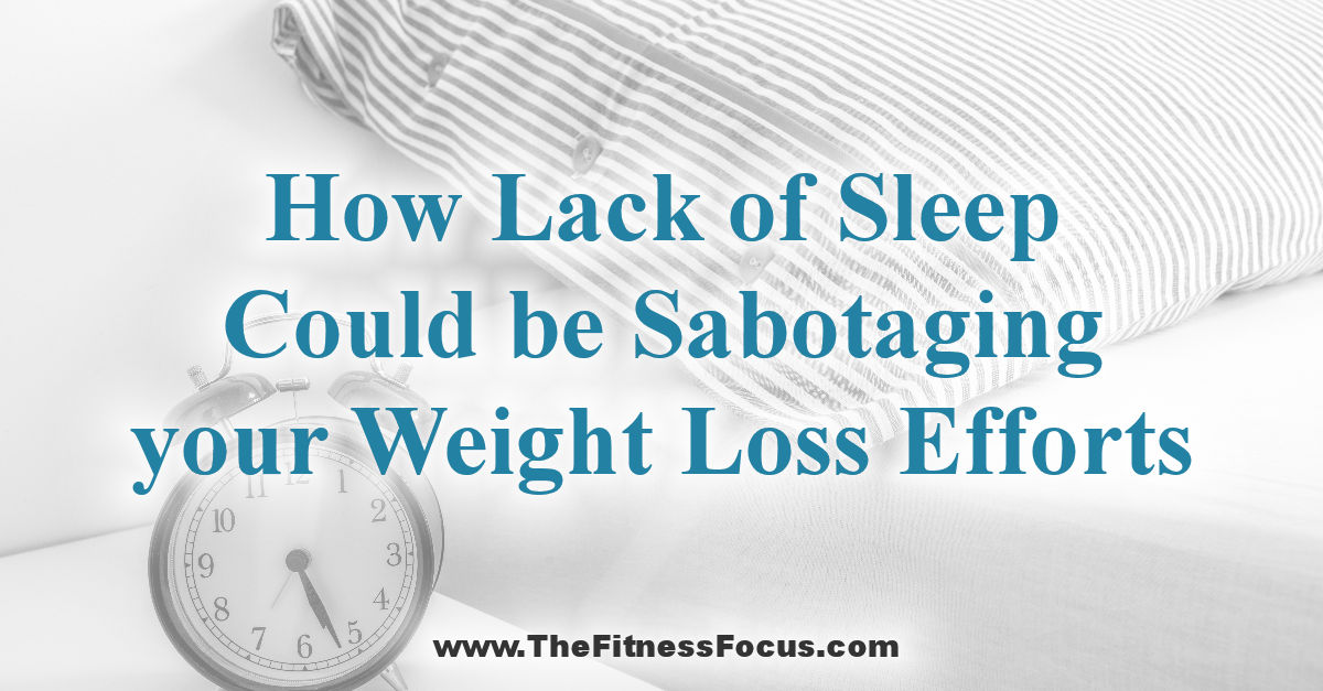 The Correlation Between Sleep and Weight Loss