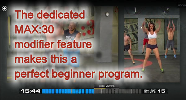insanity max:30 modifier beginner