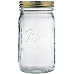 mason jar for meal prep food storage
