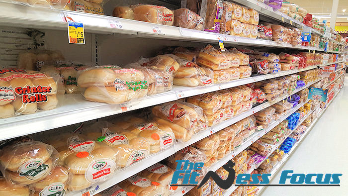selecting healthy bread