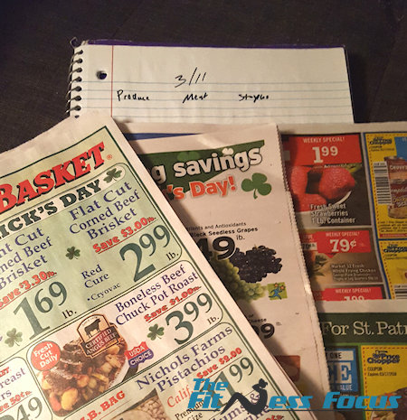 check weekly flyers for organic sales