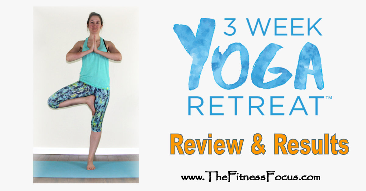 Mountain pose with review and results for 3 week yoga retreat
