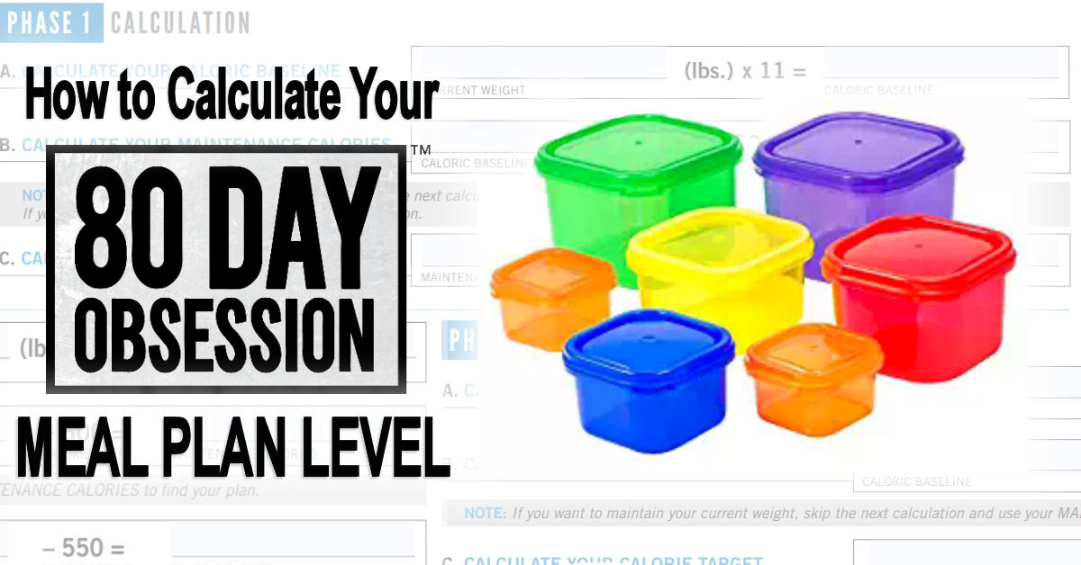 80 Day Obsession Containers