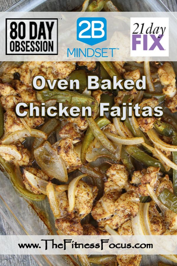 Beachbody Approved Chicken Fajita Recipe